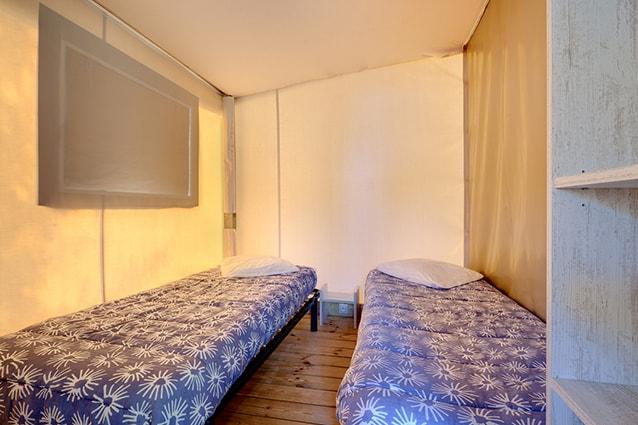 chambre lits jumeaux carrelet en location