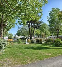 campsite pitch in la rochelle