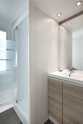 salle de bain mobil home l'Escale 6 pers