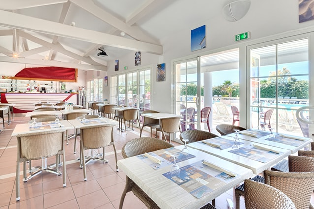 restaurant camping port punay à châtelaillon Plage