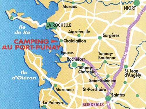 camping in de buurt van de zee Charente-Maritime La Rochelle