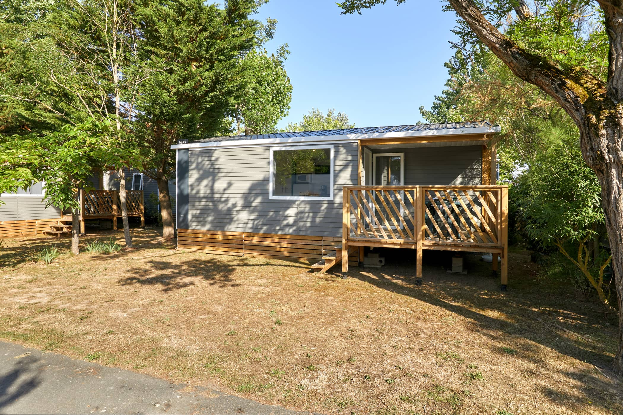 Mobil-home Terrasse 4 personnes camping au Port Punay