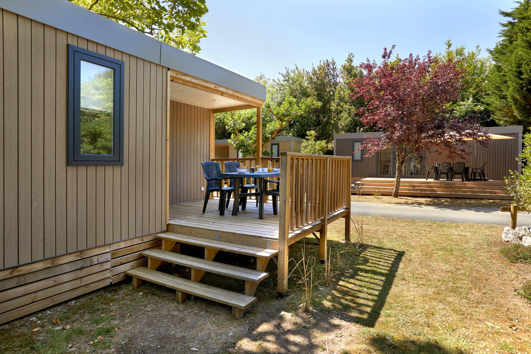 Mobil-home Terrasse Charente Maritime
