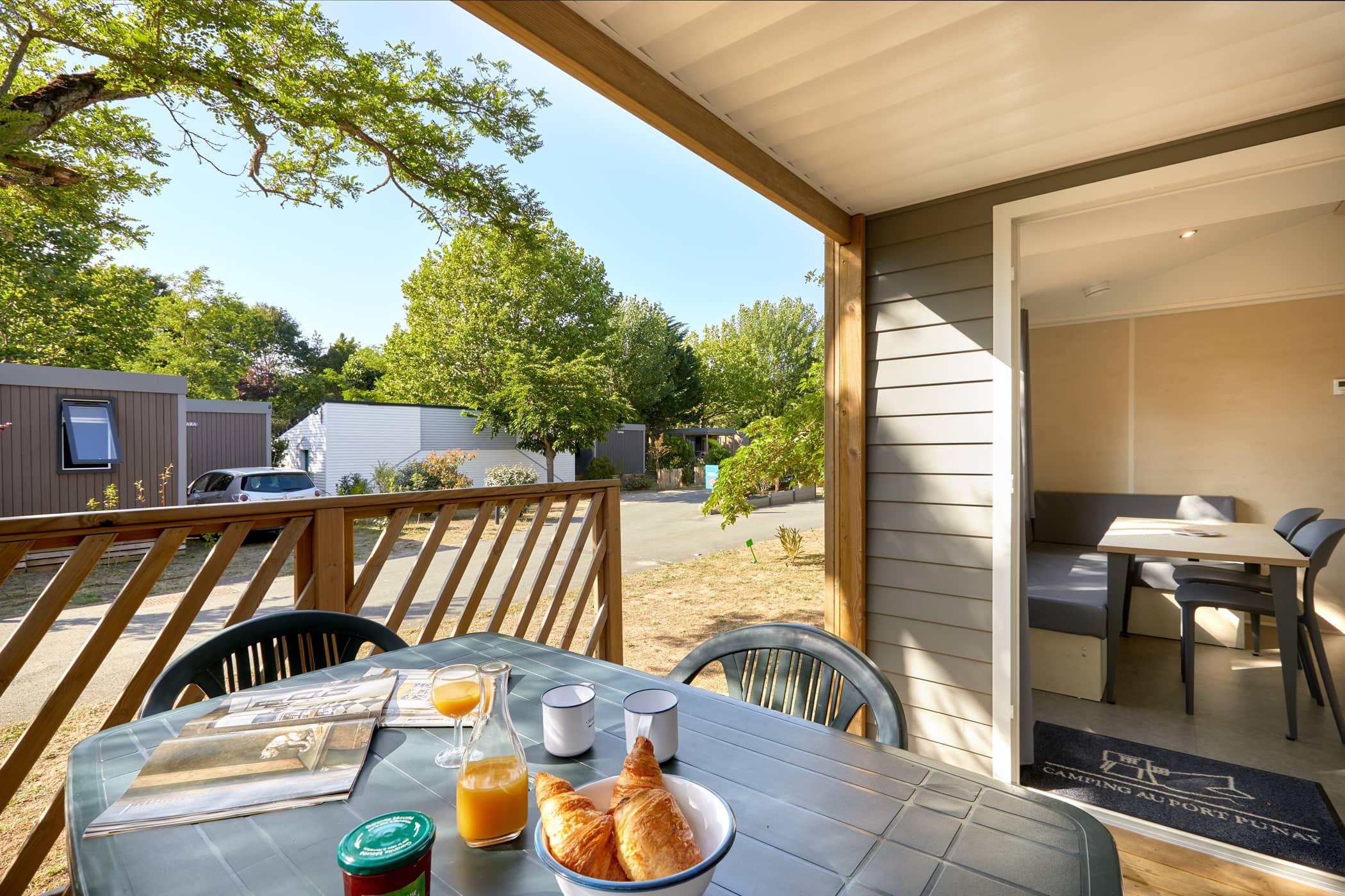 location vacances terrasse proche La Rochelle