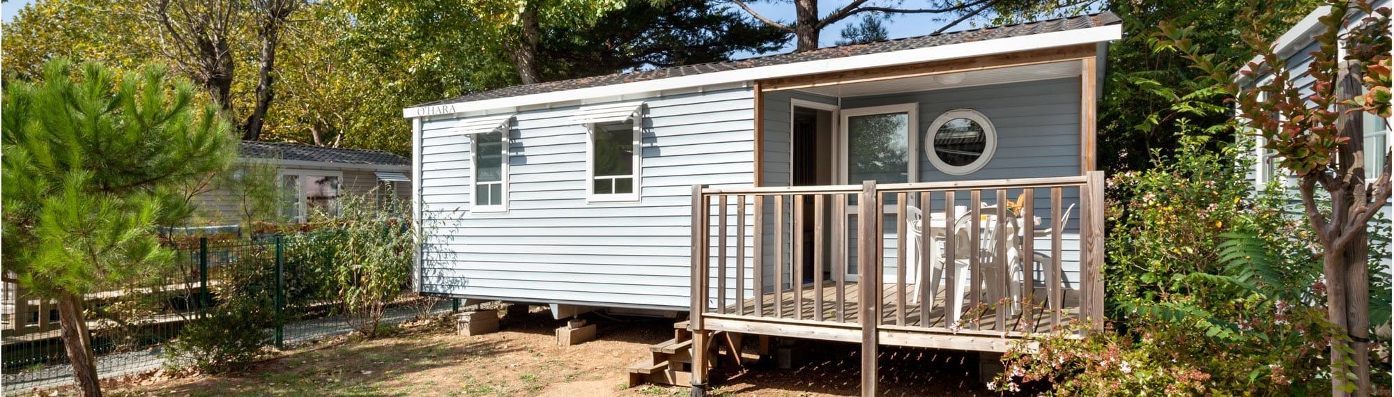 Location mobil home 4 pers 2 chambres chatelaillon plage la rochelle - Camping le port neuf la rochelle ...